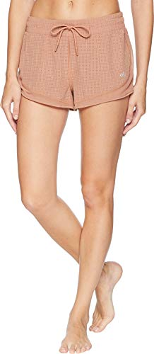 ALO Women's Frame Runner Shorts Henna Small (Alo Womens Shell)