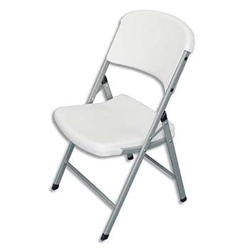Silla polietileno de asiento y respaldo curvada para mayor ...