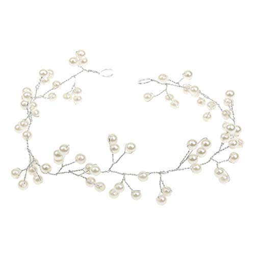Pearl Tiara Bridal Headpieces Wedding Headdress Bridesmaid Hair Accessories -