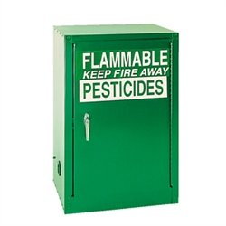 Pesticide Cabinet - Pesticide Storage Cabinet, 12 Gal., Manual