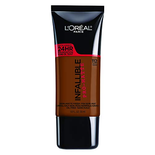 - L'Oreal Paris Infallible Pro-Matte Foundation, Cocoa [112] 1 oz