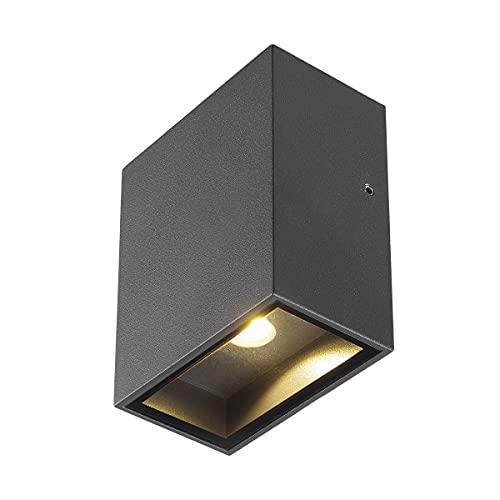 Slv quad - Luminaria 1xl cuadrado 3,2w cob led 3k antracita