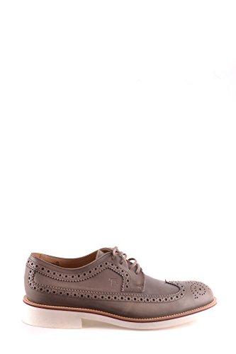 Tods Zapatos de Cordones Para Hombre Gris Gris It - Marke Größe