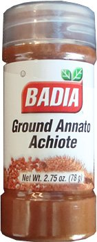 Badia Ground Annatto Seed, Achiote Molido, 2.75 Ounces