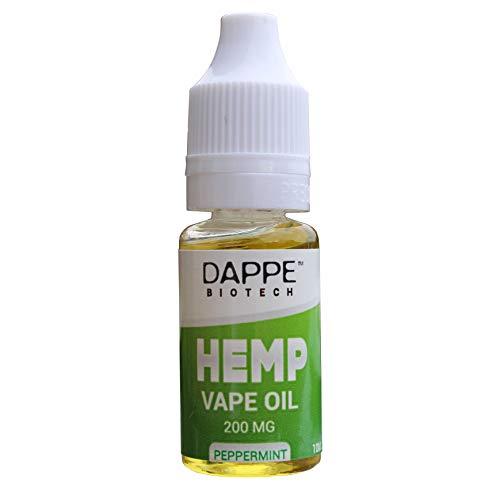 DAPPE Hemp Vape Oil | 100% Natural & Organic | No VG, PG or PEG