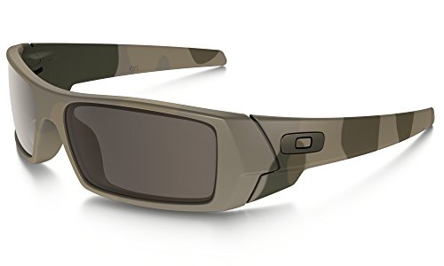 Oakley Gascan Sunglasses Multicam / Warm Grey & Cleaning Kit - Multicam Sunglasses Oakley