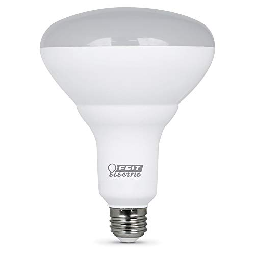 FEIT Electric BR40DM/10KLED/2 Dimmable Led Bulb, 65 W, 120 Vac, 850 Lumens, 2700 K, CRI >80, 6.3″ H x 5″ D, 2 Count