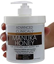 Advanced Clinicals Manuka Honey Cream is a must have for people who suffer from extremely dry skin and struggle with aging showing. Anti-aging cream with manuka honey is a necessary addition to your daily skin regimen if you want to take the ...