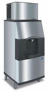 (Manitowoc SFA-291 Vending Ice Dispenser with Built-In Water Valve)