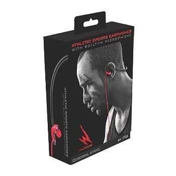 amazon com warrior by ihip athletic sports earphones cerebral Wireless Microphone Wiring Diagram warrior by ihip athletic sports earphones cerebral