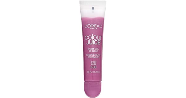 Amazon.com: L Oreal Paris Color Juice Sheer Juicy Lip Gloss ...