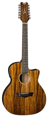 Dean Guitars String Acoustic-Electric Guitar Right (AX E KOA 12