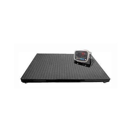 10000lbs Capacity, Durable Floor Pallet Scale, 5'x5' Base by Weighmax