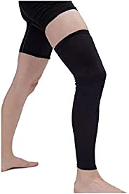 MAGAO Leg Sleeve Compression for Men and Women, Leg Long Sleeves UV Protection Sports Cycling Strech Leg Warme