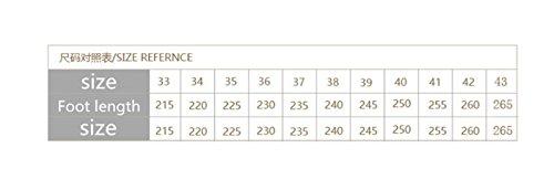 con red Ruanlei casuales números de 35 planas Sandalias de Sandalias apricot Sandalias Sandalias Para cuentas grandes Playa chanclas Sandalias y pendientes de Mujer playaBordada con Zapatos r7wrxgaq