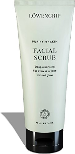 L wengrip Purify My Skin Exfoliating Facial Scrub – Allantoin Glycerin. Gives Radiance. Reduces Inflammation Redness. Sweden s Fastest Growing Beauty Brand All Skin Types Sensitive – 75 ml