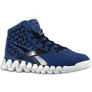 amazon com reebok mens basketball shoes zigtech zig slash blue rh amazon com