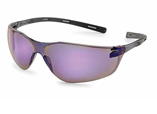 Gateway Safety 20BK9M Ellipse Safety Glasses, Black Temples, Blue Mirror Lens Arc Ellipse 2 Light