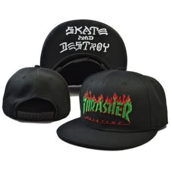 Thrasher Fashion Unisex Snapback adjustable Baseball Cap Hip Hop hat(color 8)