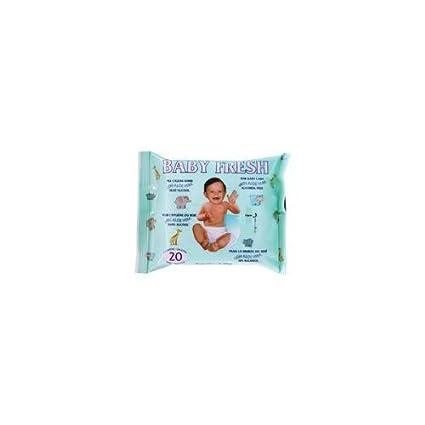 Stenago - Toallitas con Aloe Vera Baby Fresh 20 uds