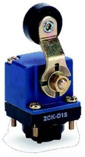 Telemecanique ZCKY15 Plastic Roller Lever Actuator for ZCKD Series Limit Switch Rotary-Type Head, 360-Degree Orientation