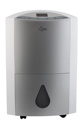 KLIMATRONIC Luftentfeuchter DryFix 20 [Für Räume bis 150 m³ (~65 m²), Entfeuchtungsleistung = 20 l/Tag, inkl. Luftreinigungsfunktion]