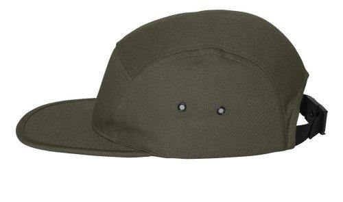 Yupoong - Jockey Flat Bill Cap, (Cap Hat Olive)