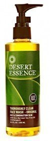 Desert Essence Thoroughly Clean Face Wash - Original -- 8.5 fl oz, Pack of 2 (Essence Clearing)