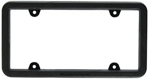 Rear License Plate Frame (WeatherTech 8ALPBF1 Bumper Frame)