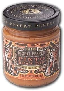 product image for Desert Pepper, Pinto Bean Dip-Mild, 16 Ounce Jar