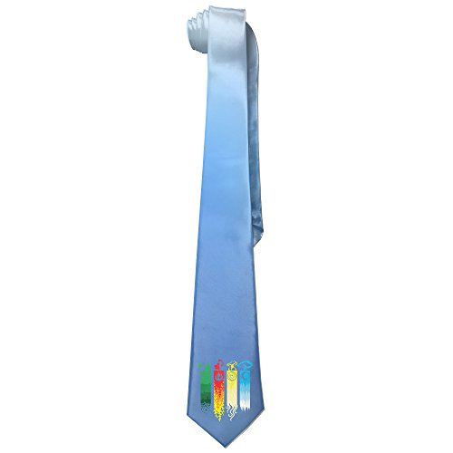 Ggift Tribe Kingdom Nation Nomads Men's Fashion Business Solid Necktie (Aang The Avatar Costume)