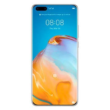 Huawei P40 Pro Plus 5G Dual SIM Smartphone (512 GB Storage, 8 GB RAM), Android 10 AOSP (NO Google PLAYSTORE), EMUI 10.1. Global ROM ELS-N39 - Ceramic White (Ships After July 8th)