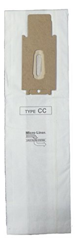 Oreck XL & CC Microlined Filtration Bags by Home Care Products, 8 bags - CCPK80H, CCPK80F, CCPK8DW, PK80009, PK80009DW, CCPK8 with Bag Dock