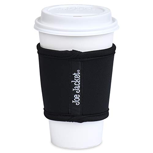 Joe Jacket Neoprene Reusable Coffee Sleeve. Perfect Green Alternative to Disposable Hot Cup Sleeves