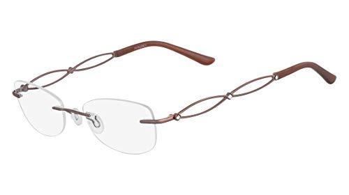 Óculos Airlock Brilliance 200 210 Marrom Lente Tam 49