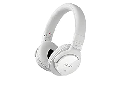 Sony MDR-ZX750BN Wireless Bluetooth Headset - White
