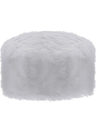 Sumind Faux Fur Hat Winter Russian Style Hat Cossack Cap for