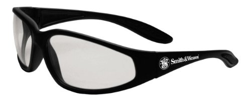 Clear Lens Smith /& Wesson TCSW3011699 Smith /& Wesson 38 Special Safety Glasses Black Frame