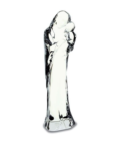- Baccarat Crystal Nativity Mother Mary and Child