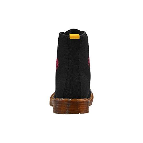 Scarpe Da D-story Moda Stringate Martin Boots Da Uomo Multicoloured13