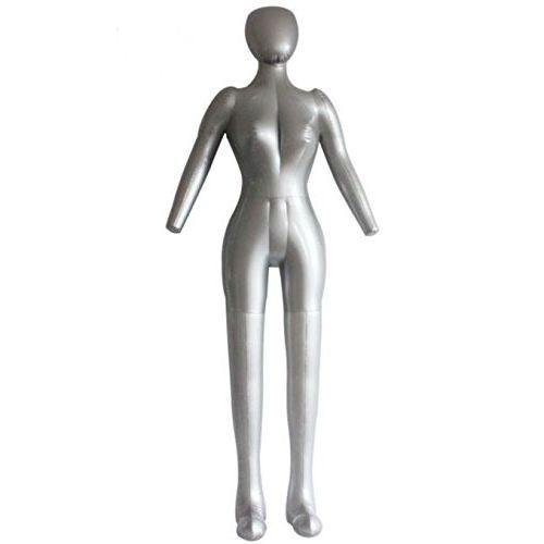 Back to 20s Inflatable Female Full Body Dress Form Mannequin Torso Dummy Model Fashion Dress Display -