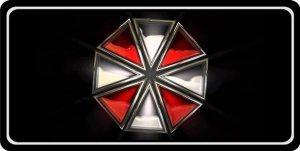 Umbrella Corporation Photo License - License Umbrella Plate