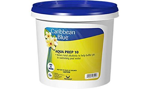 Caribbean Blue Aqua Prep 10 Swimming Pool Alkalinity Increaser by Pool & Spa Chemicals (10 Lb)