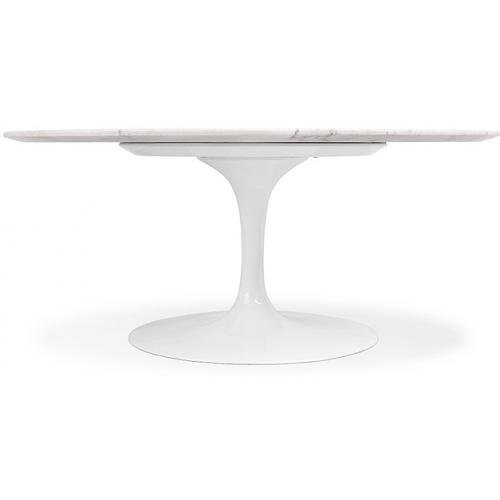 Privatefloor Mesa Tulip Eero Saarinen Style - Mármol - 120 cm ...