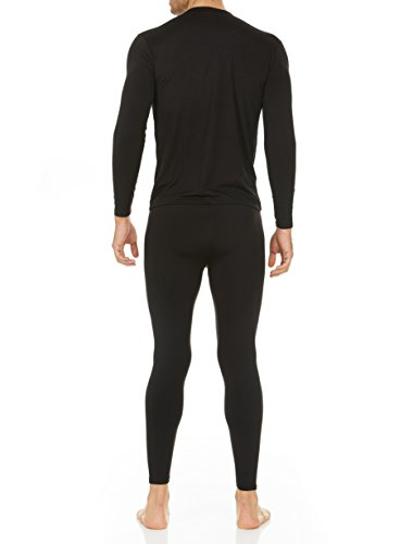 Thermajohn Men's Ultra Soft Thermal Underwear Long Johns Set with Fleece Lined 2