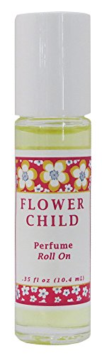 Flower Child Perfume Roll On - Cool For Teenage Girls Glasses