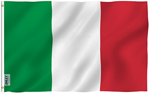 ANLEY  3x5 Foot Italy Flag - Vivid Color and UV Fade Resista