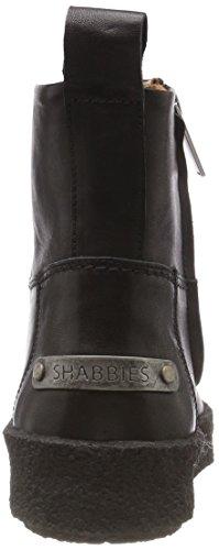 Shabbies Amsterdam Femme Shs0247 Bottines Black Noir 0004 rrxdnwq6Ag