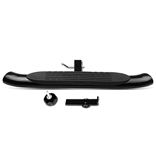 DNA Motoring HITST-2-4O-111-BK-T1 Class III 4″ Oval Hitch Step