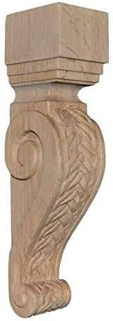 13 Inch Oak Braid Corbel BingLTD 1 PC C48-OAK-UNF-FBA